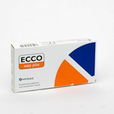 ECCO EASY PLUS T (6ER PACK) KONTAKTLINSEN