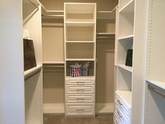 (New Message) How to Design a Custom Closet Avoid Mistakes – Innovate Home Org Columbus Ohio - Innovate Home Org Master Closet Design, Custom Closet Design, Master Bedroom Closet, Custom Closets, Closet Designs, Closet Renovation, Closet Remodel, Best Closet Systems, Closet Solutions
