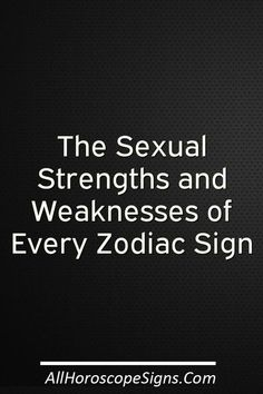 Ever wondered what somebody's like in bed? (Of course you have.) Your lover's sun sign can reveal a lot about the skills and struggles they bring to the sack. Here's a heads up about what every sign can—and can't—do for you after you dim the lights. Aries: Striking like lightening, Aries is a fiery mix of energy and…