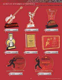 Guitar trophies