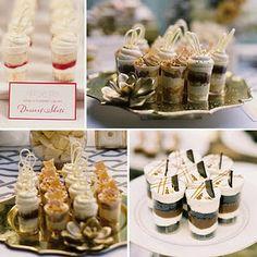 Dessert shots!