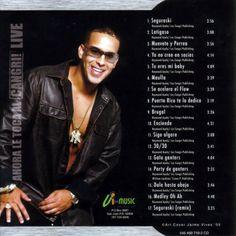 Caratula Interior Frontal de Daddy Yankee - Ahora Le Toca Al Cangri! Live