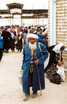 At the local market ~ Uzbekistan