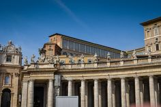 Bazilica Sf. Petru din Vatican  Bazilica Sf. Petru din Vatican, mai mult decât o catedrală - galerie foto.  Vezi mai multe poze pe www.ghiduri-turistice.info Vatican, Sf, Louvre, Building, Travel, Viajes, Buildings, Destinations, Vatican City