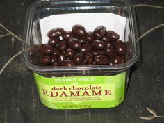 #traderjoes #chocolate #edamame 5 #pointsplus A great #snack or #dessert packed with #protein! weightwatchers #workout #health #fitness