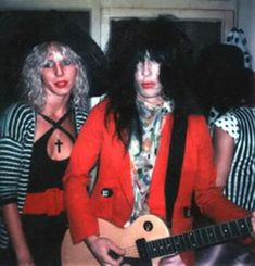 jaynedoll — Various photos of Sabel Starr and Johnny Thunders...