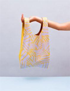 Baggu Small Leather Bag- Custom Paint ($150.00) - Svpply