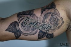 Roses black and grey (healed)