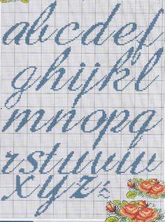 Ângela Bordados: alfabeto