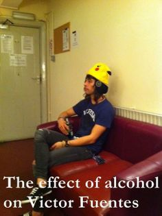 awww he's the most adorable drunk ever :3