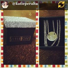 RG @Katie Peralta: #PicFrame #gift from #mylove �� #delighted #silverworks #instapic #silverworksphil silverworks.ph