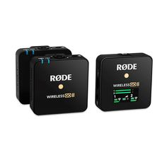 Wireless GO II | Dual Wireless Mic System | RØDE Microphones Camera Rig, Digital Audio, Clip, Hardware, Easy To Use, Smartphone, Channel, Usb, Shopping