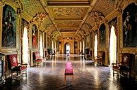 Gallery of the Chateau de Maintenon, France
