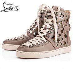 ab5b6c5ea1bd Cheap Christian Louboutin Shoes Men Sneakers Alfibully Grey Sale