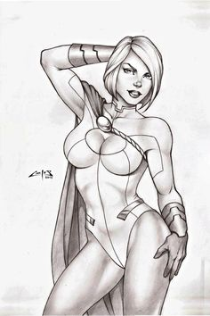 Power Girl by Carlos Augusto Braga