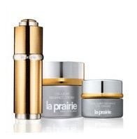 """""""La Prairie Switzerland Saving 20% + free shipping""""     Laboratoires La Prairie traces its proud heritage to the highly renowned Clinique  La Prairie in Motreux,Switzerland. La Prairie products help prolong the youthful  appearance of even the most delicate skin.  Each one confronts the problem of  premature aging. La Prairie Clinique has been the pioneer in cellular antiaging therapy!      http://www.yslux.com/gdept.aspx?dept_id=30-004"""