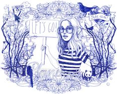 Silke Werzinger Illustration - love her work