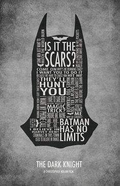 The Dark Knight Typography