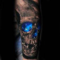 Resultado de imagen para skull tattoo tumblr