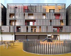 Conjunto Habitacional – Barcelona | concursosdeprojeto.org