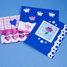 Cards with a Scalloped Edge