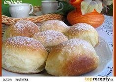 Kynuté buchty plněné marmeládou recept - TopRecepty.cz