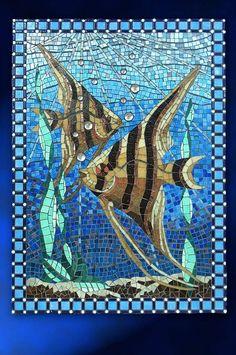 Resultado de imagen de mosaic fish