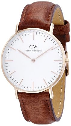 Daniel Wellington Women's Quartz Watch Classic St Mawes Lady 0507DW with Leather Strap