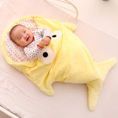 The ultimate baby bedding collection. Throw, cuddle, swaddle and bamboo blankets. Cute Shark, Baby Shark, Baby Wrap Blanket, Cute Blankets, Baby Towel, Baby Swaddle, Baby Cartoon, Baby Wraps, Sleeping Bag