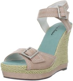 Michael Antonio Women's Gemma-Nat Wedge Sandal *** Check out the image by visiting the link.