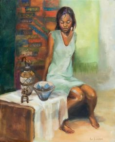 Eve Larson Portraits and Captured Moments -- African Art