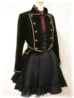 military style jacket (steampunk)