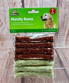 Dog Bones Munchy Bones High Protein Low Fat Keeps Gum And Teeth Healthy Clean Dog Bones, High Protein, Fat, Cleaning, Healthy, Animals, Products, Animales, Animaux