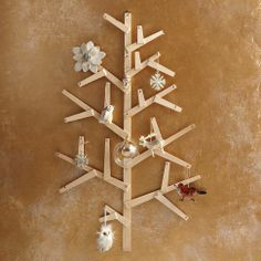 Wooden Wall Tree from west elm