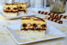 Prajitura cu napolitane | MiremircMiremirc Romanian Desserts, Lidl, Something Sweet, Nutella, Tiramisu, Sweet Treats, Food And Drink, Cookies, Healthy