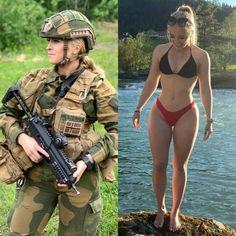 Mädchen In Uniform, Military Girl, Female Soldier, Strip, Military Women, Girls Uniforms, Girl Photos, Cute Girls, Fit Women