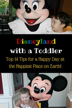 Disneyland with a Toddler - Top 14 Tips for a Happy Day at the Happiest Place on Earth!