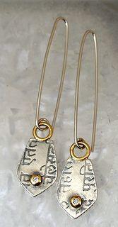 Meta earrings | by Circle Craft