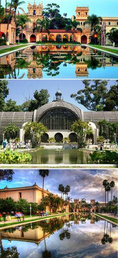 World's Most Beautiful City Parks Balboa Park, San Diego