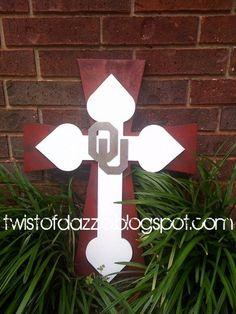 OU Cross; @Barbara Acosta Schwacke-Stovall