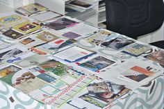 Great strategies on preparing and planning your scrapbooking projects so you can utilize your time wisely.