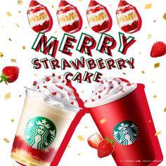 Food Graphic Design, Pop Design, Starbucks Coffee, Hot Coffee, Coffee Drink Recipes, Food Signs, Winter Drinks, Coffee Photography, Christmas Drinks