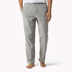 Tommy Hilfiger Cotton Jersey Loungewear Pant - grey heather (Grey) - Tommy Hilfiger Lounge & Sleepwear - main image