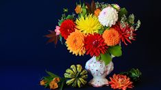Autumn Colors Photography Still Life Flower Colors Colorful Gourd Vase Wallpaper More Wallpaper, Colorful Wallpaper, Wallpaper Backgrounds, Amazing Flowers, Colorful Flowers, Flower Colors, Flower Pictures, Flowers Pics, Flower Of Life