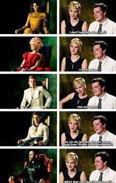 hahaha. Jennifer and Josh