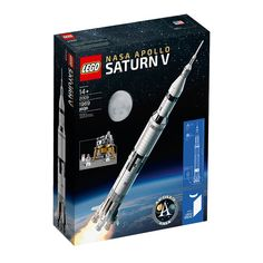 Advance review of LEGO Apollo Saturn V Rocket Set 21309