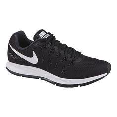 new styles 08071 8d847 Nike Women s Air Zoom Pegasus 33 Running Shoes - Black White