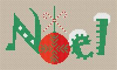 Free Cross Stitch Patterns: Noel