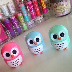 Owl lipglosses!