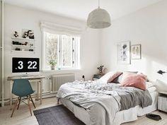 Chambre en rose et gris - 70 idées pour un intérieur doux et élégant